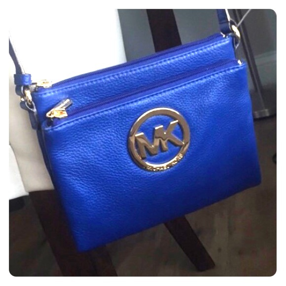 01b3d613afc5 Michael Kors Bags | Electric Blue Crossbody Purse | Poshmark